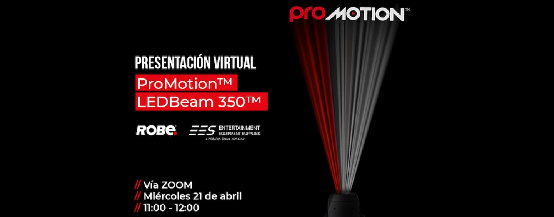 EES realiza presentación de Robe ProMotion en español