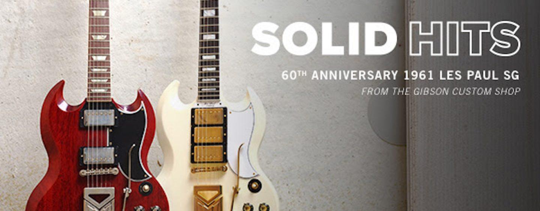 Guitarra Gibson para celebrar 60 años de la Les Paul SG 1961