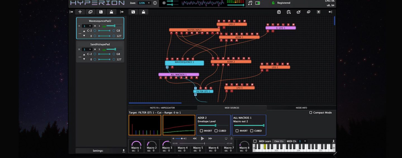 Tracktion presenta plugin Hyperion