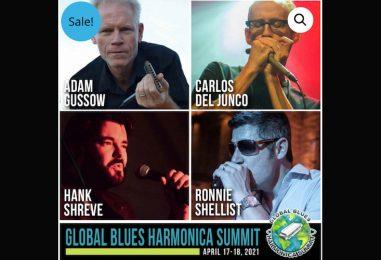 Este fin de semana se celebrará evento mundial de armónica de blues