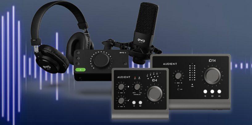 Dos novedades de Audient para trabajar con audioen casa