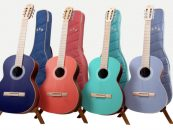 Ya están disponibles las guitarras coloridas de Córdoba