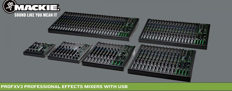 Cómo usar Mackie ProFXV3 como interface de audio