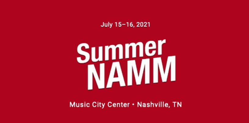 Summer NAMM tendrá feria presencial en Nashville
