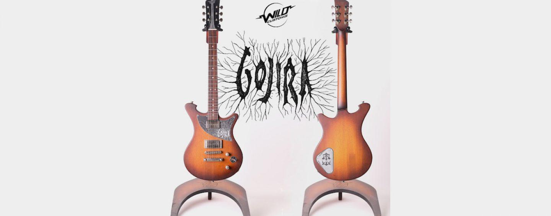 Wild Custom Guitars hace subasta con Gojira y Propeller
