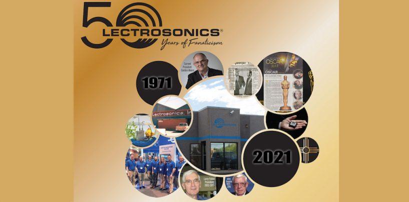 Lectrosonics celebra 50º aniversario