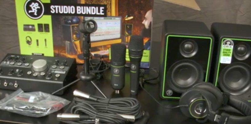 Descubre el paquete para grabación en casa completo de Mackie
