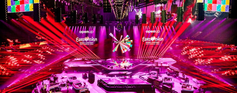 Más de 480 luces Claypaky en el Eurovision Song Contest 2021