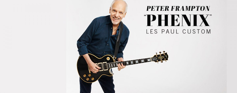 "Nueva Peter Frampton ""Phenix"" Les Paul Custom de Gibson"