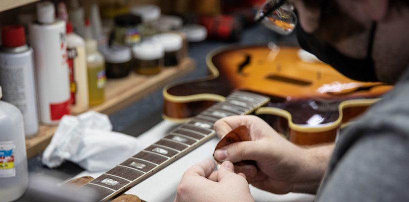 Gibson introduce servicio de reparación y restauración