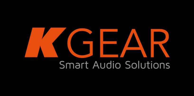 KGEAR es la nueva marca de audio de K-array de precio accesible