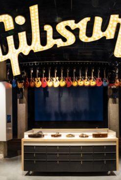 Tienda física Gibson Garage abre en Tennessee