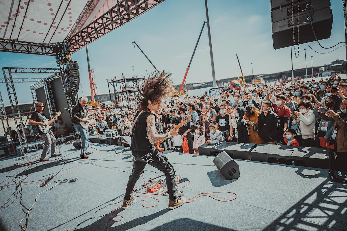 Music China 2020 – Outdoor performance