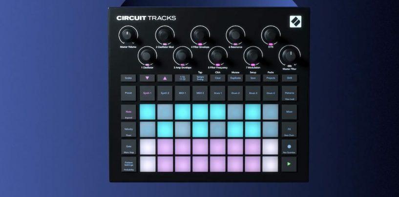 Novation presenta groovebox Circuit Tracks