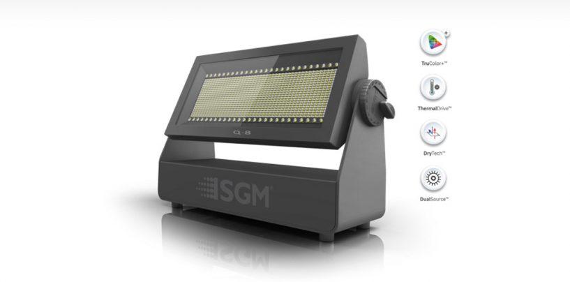 SGM lanza Q8: estrobo, flood, pixel y blinder