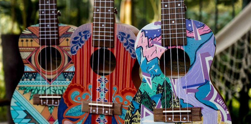 Ukeleles y guitarras Bamboo llegan a México