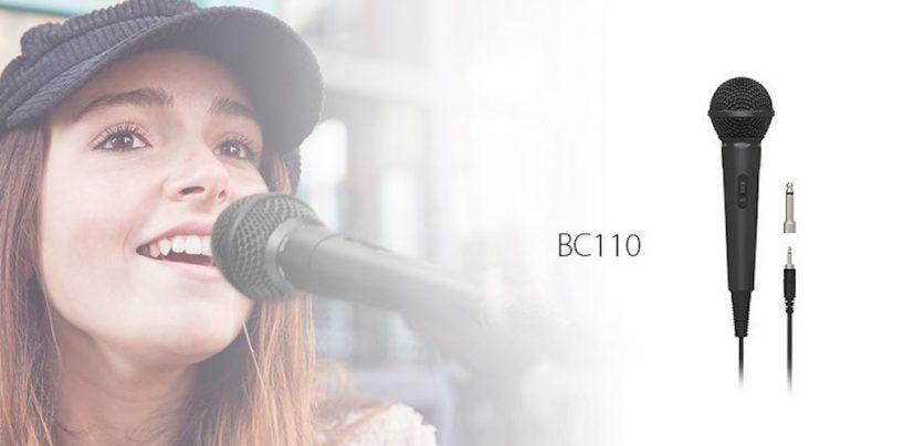 Lanzamiento Behringer: micrófono dinámico BC110