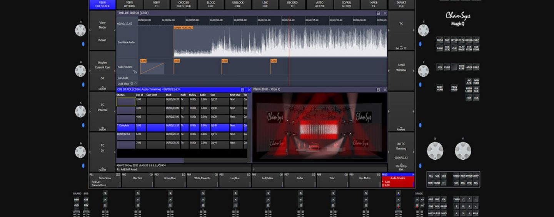 ChamSys presenta software MagicQ Beta v1.9.1.0