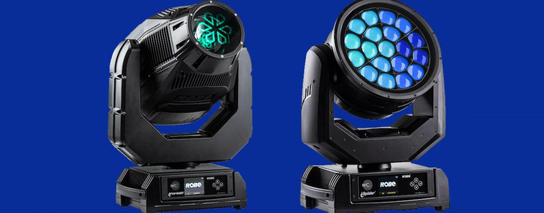 Dos nuevas luces de Robe: iPointe65 & iSpiider