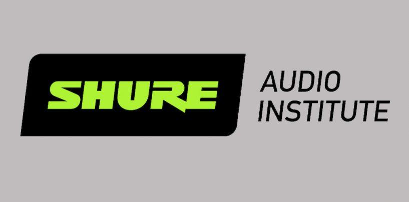 Shure ofrece capacitación gratuita para profesionales de audio