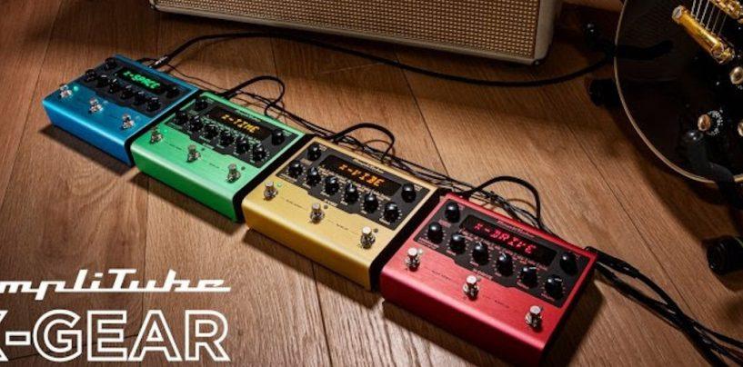 IK Multimedia anuncia pedales AmpliTube X-GEAR