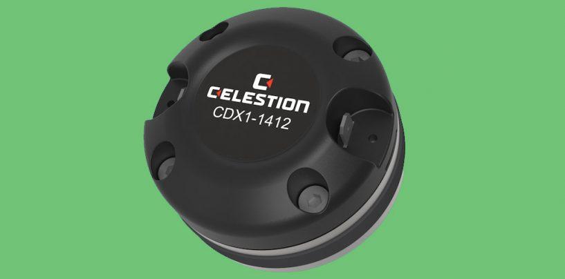 Celestion debuta driver de compresión CDX1-1412