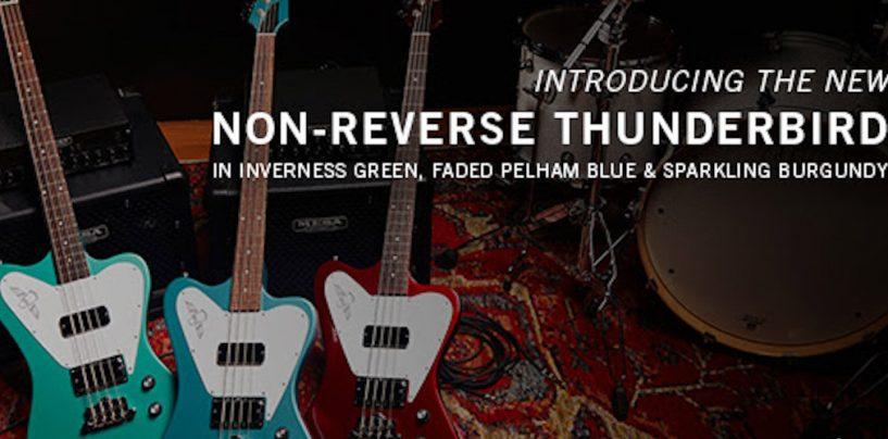Non-Reverse Thunderbird es el nuevo bajo de Gibson