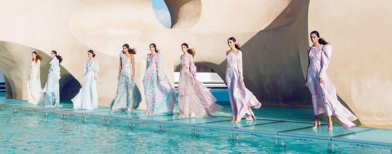 GUIL provee tarimas transparentes para Tenerife Volcanic Fashion