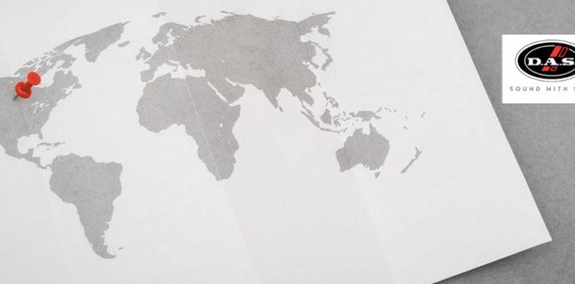 DAS Audio continúa su expansión en Norteamérica