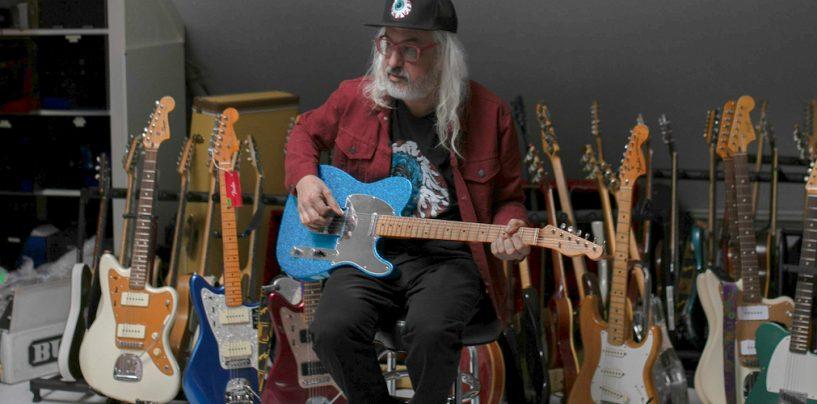 Fender hace guitarra Top-Loader Tele para J Mascis