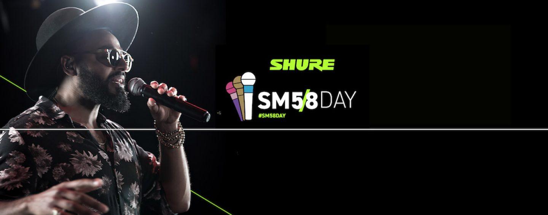Shure celebra aniversario del SM58 con live el día 5/8