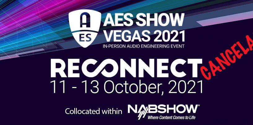 Conferencia AES Vegas 2021 fue cancelada