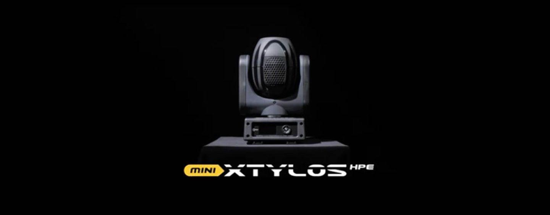 Nuevo beam Mini Xtylos HPE de tamaño pequeño de Claypaky