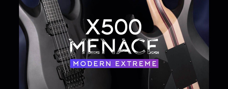 Cort Guitars introduce guitarra eléctrica X500 Menace