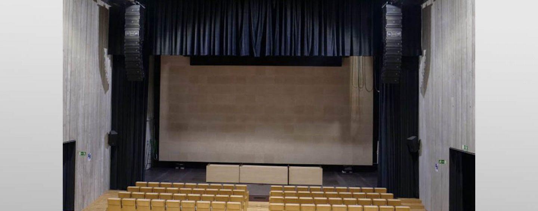 España: Sistema DAS Audio en el Auditorio del Campus María Zambrano de Segovia