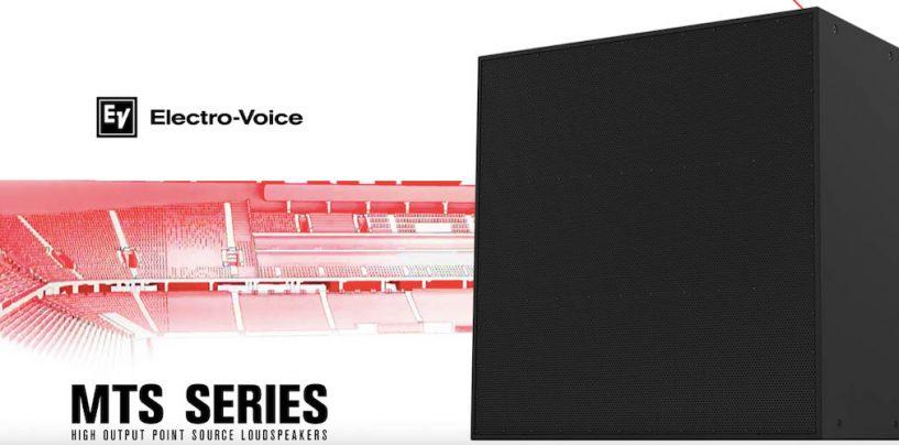 Electro-Voice presenta sistemas MTS de fuente puntual para espacios grandes