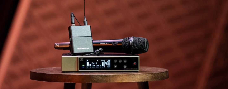 Evolution Wireless Digital de Sennheiser para AV y TI
