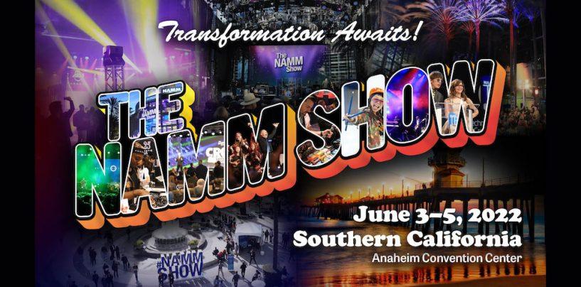 The NAMM Show 2022 será realizado de 3 a 5 de junio