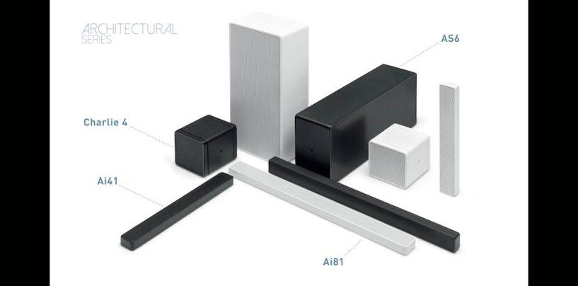 Outline presenta altoparlantes Architectural Series para arquitectura