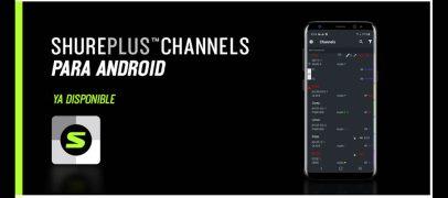 App ShurePlus Channels disponible para Android
