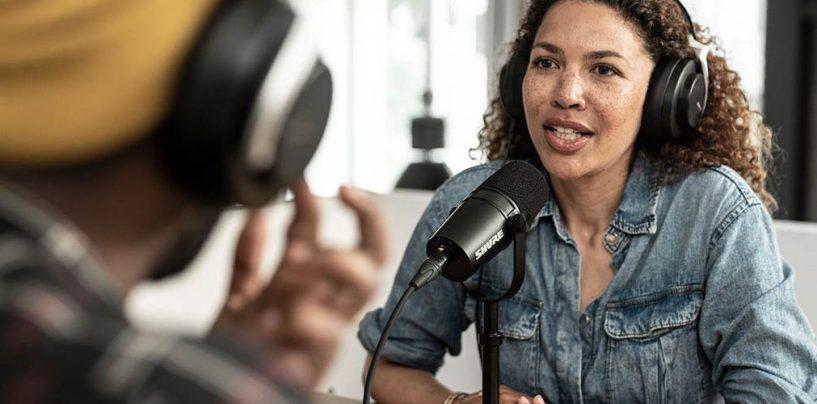Shure apoya 1º Premio Internacional de Podcasts para Mujeres